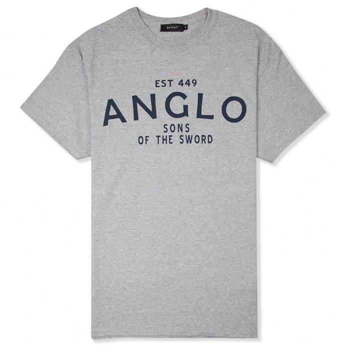 Senlak Anglo-Saxon t-shirt with Anglo - Sons of the Sword design.